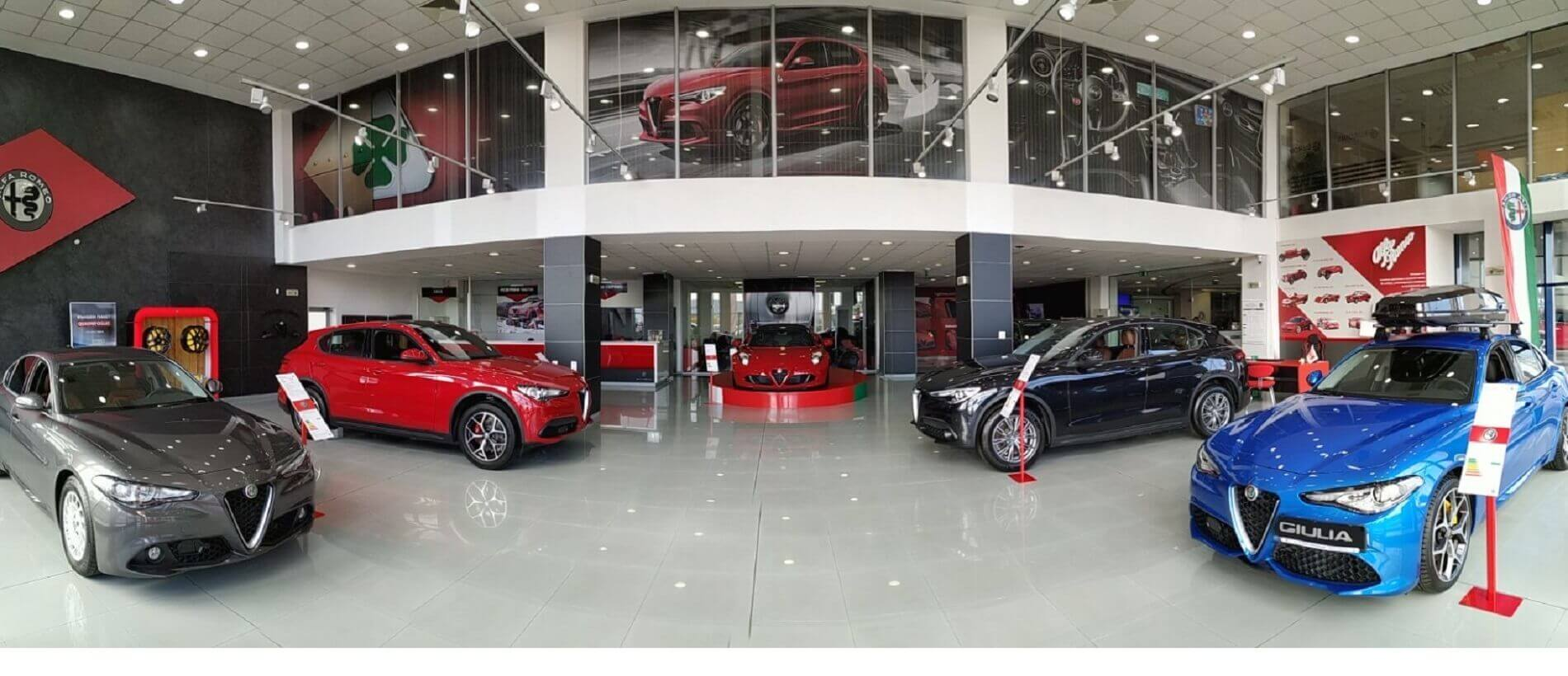 alfa romeo showroom sofia
